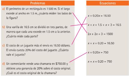 Leccion 40 Problemas Diversos Ayuda Para Tu Tarea De Conecta Mas Matematicas 1 Editorial Sm Secundaria Primero Respuestas Y Explicaciones