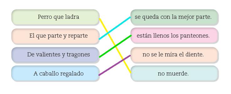 7 Recopilar Dichos Refranes Y Pregones Ayuda Para Tu Tarea De Lengua Materna Español Sep Secundaria Primero Respuestas Y Explicaciones